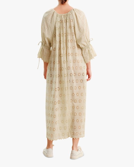 byTimo Broderie Anglaise Maxi Dress 1