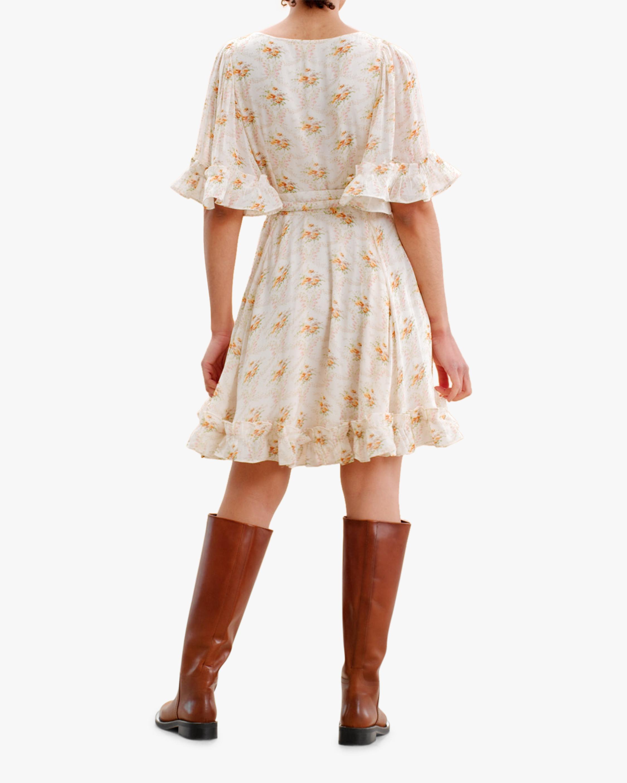 byTimo Ruffled Flare-Sleeve Mini Dress 2