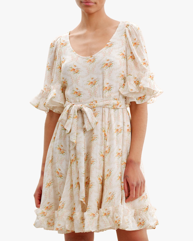 byTimo Ruffled Flare-Sleeve Mini Dress 3
