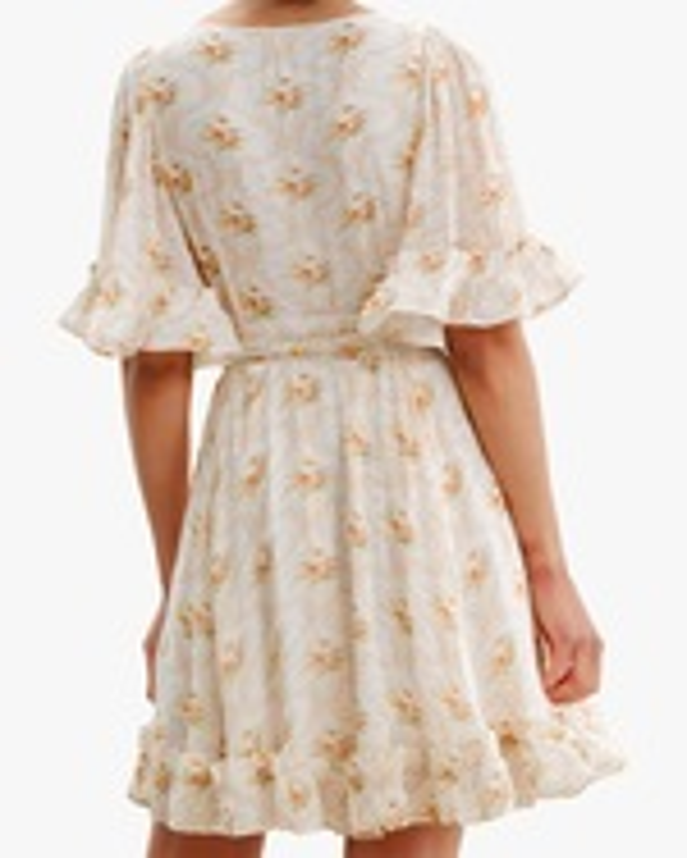 byTimo Ruffled Flare-Sleeve Mini Dress 4
