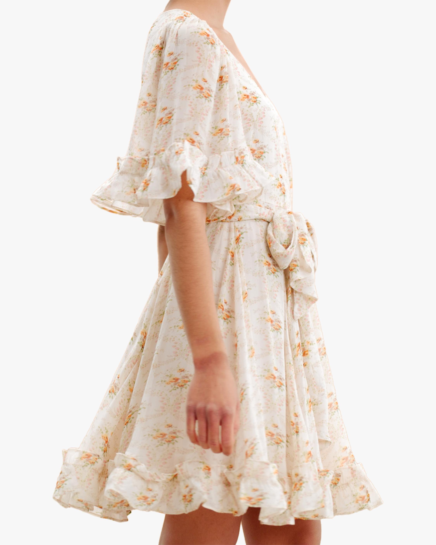 byTimo Ruffled Flare-Sleeve Mini Dress 5