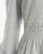 byTimo Embroidered Linen Mini Dress 4