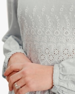 byTimo Embroidered Linen Mini Dress 5