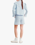 byTimo Embroidered Linen Shorts 1