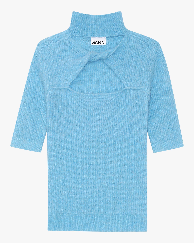 Ganni Soft Wool Knit Top 2