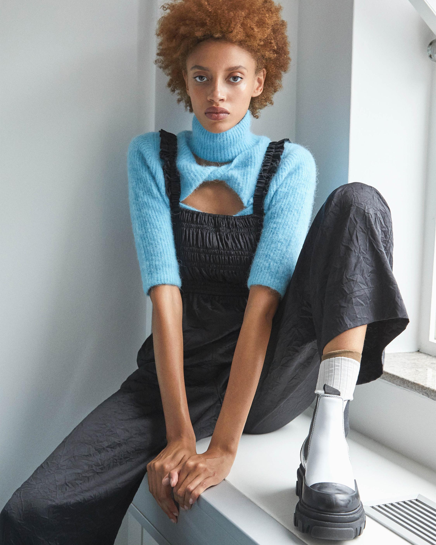 Ganni Soft Wool Knit Top 1