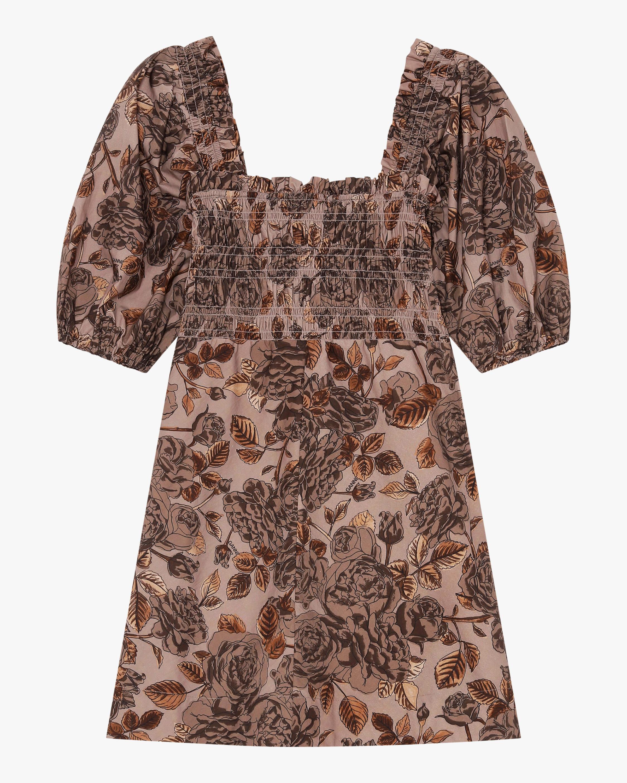 Ganni Cotton Poplin Mini Dress 0