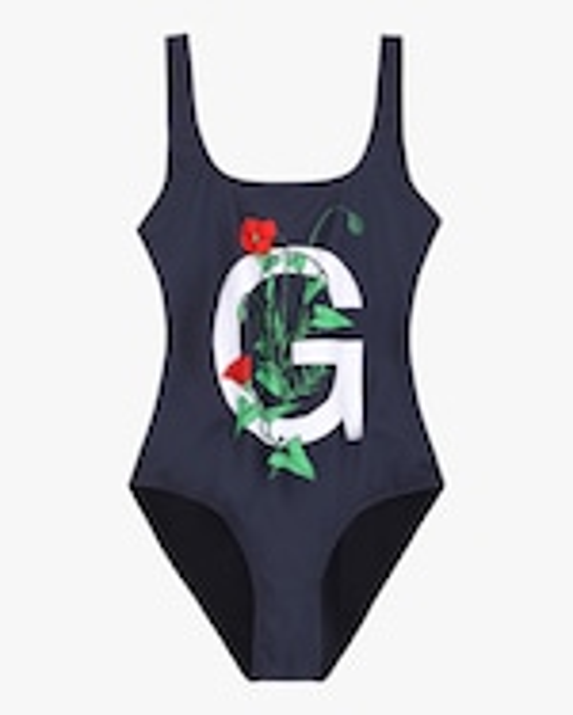 Ganni Flower G Swimsuit 0