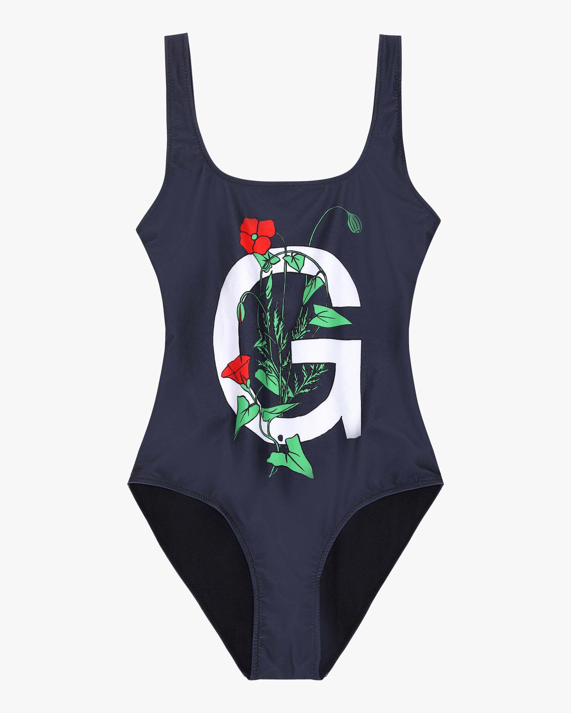 Ganni Flower G Swimsuit 2
