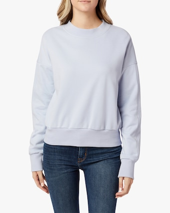 Hudson Cutout-Back Sweatshirt 1