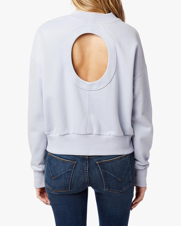 Hudson Cutout-Back Sweatshirt 2