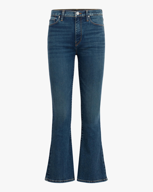 Hudson Barbara High-Rise Bootcut Crop Jeans 1