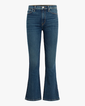 Hudson Barbara High-Rise Bootcut Crop Jeans 1