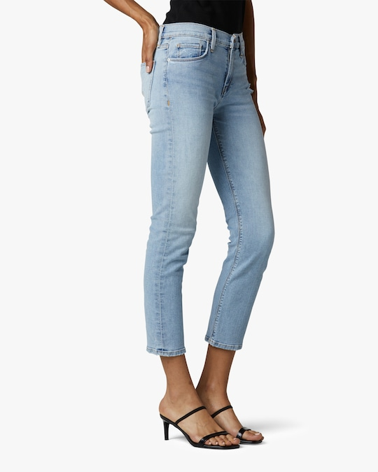 Hudson Nico Mid-Rise Crop Straight Jeans 1