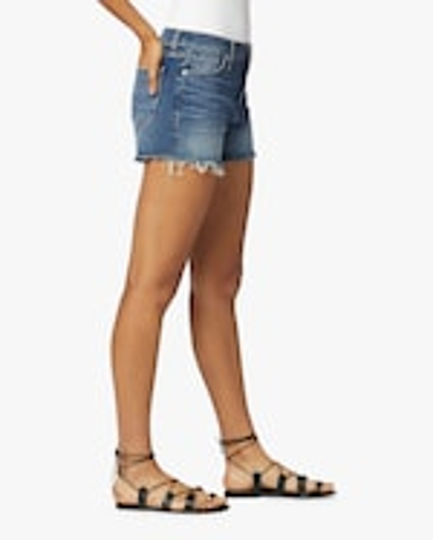 Hudson Gemma Mid-Rise Cutoff Shorts 4