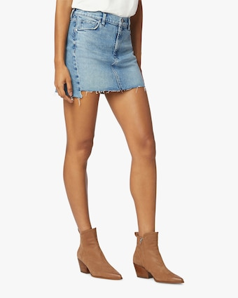 Hudson The Viper Denim Skirt 2