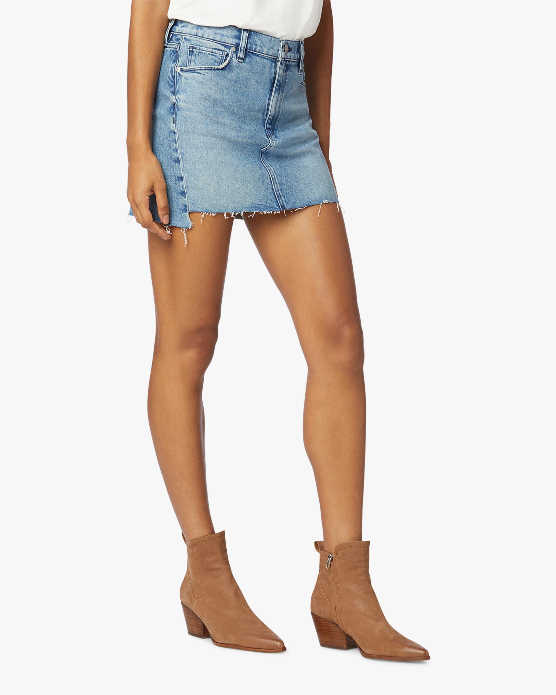 Hudson The Viper Denim Skirt 1