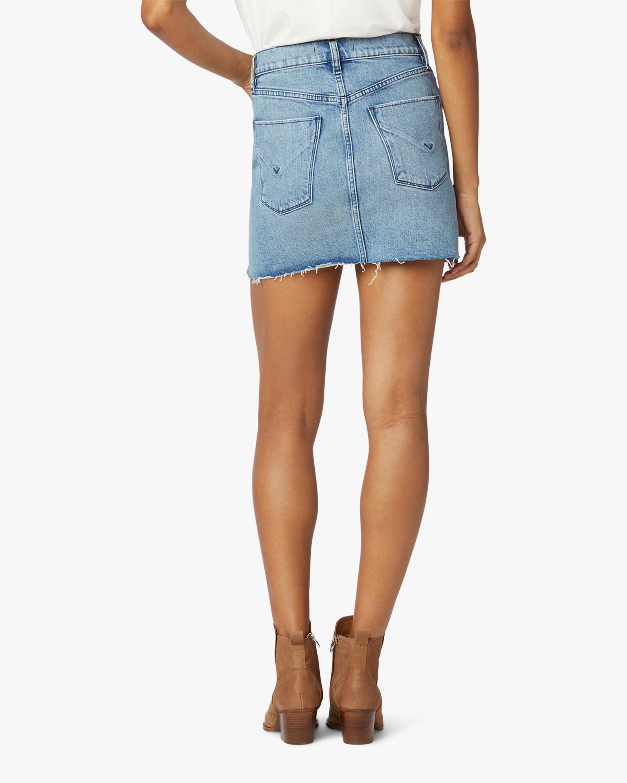 Hudson The Viper Denim Skirt 2