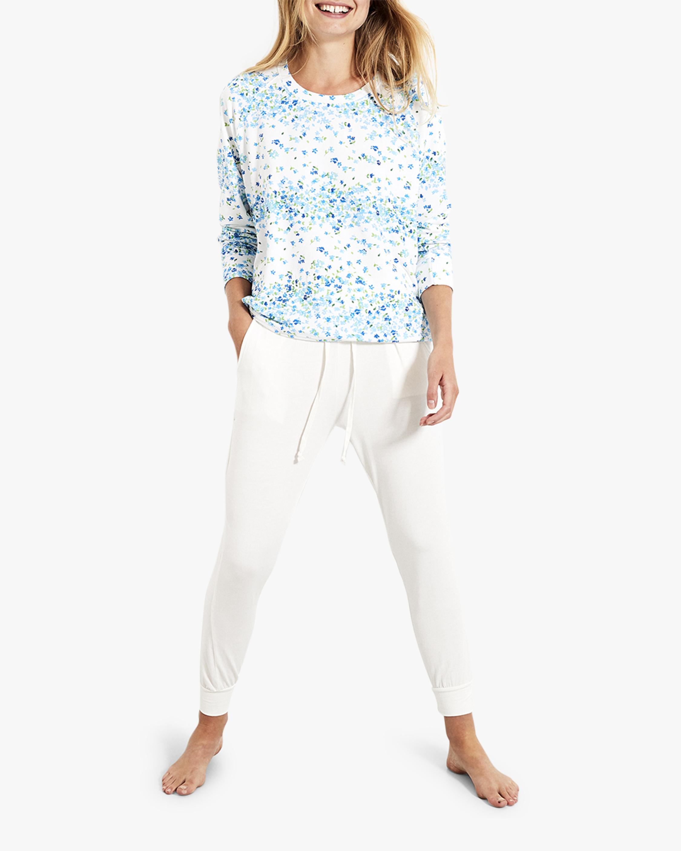 Stripe & Stare Periwinkle Sweatshirt 1