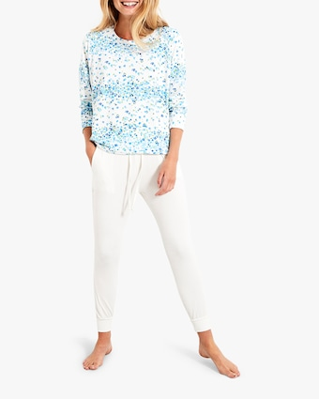 Stripe & Stare Periwinkle Sweatshirt 2
