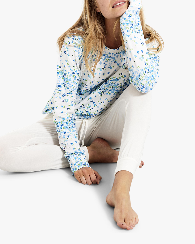 Stripe & Stare Periwinkle Sweatshirt 3