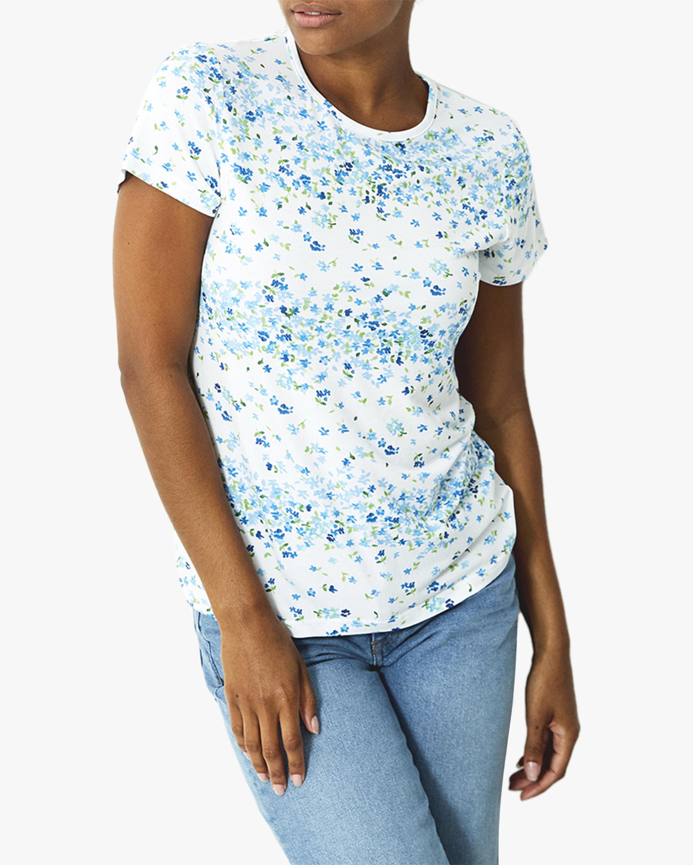 Stripe & Stare Perwinkle T-Shirt 1