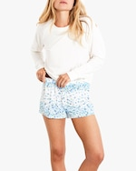 Stripe & Stare Periwinkle Bed Shorts 4