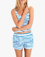 Stripe & Stare The Stripe Bed Shorts 0
