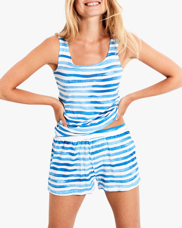 Stripe & Stare The Stripe Bed Shorts 1