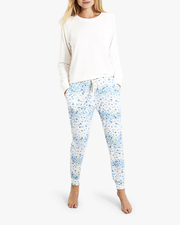 Stripe & Stare Periwinkle Lounge Pants 1