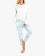 Stripe & Stare Periwinkle Lounge Pants 2