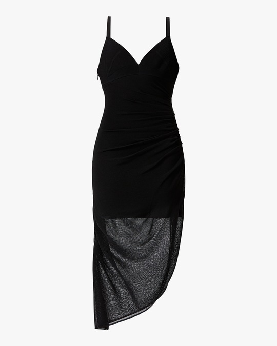 Herve Leger Draped Camisole Dress 0
