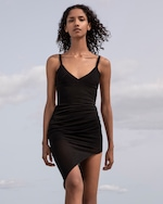 Herve Leger Draped Camisole Dress 1