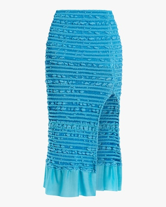 Herve Leger Puckered-Stitch Pencil Skirt 1