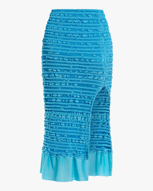 Herve Leger Puckered-Stitch Pencil Skirt 1