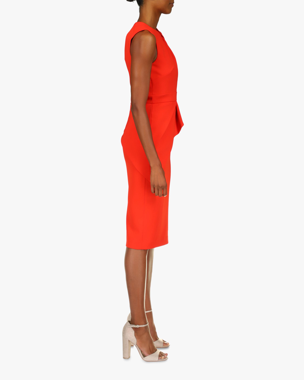 Badgley Mischka Odessa Buckle Sleeveless Dress 2