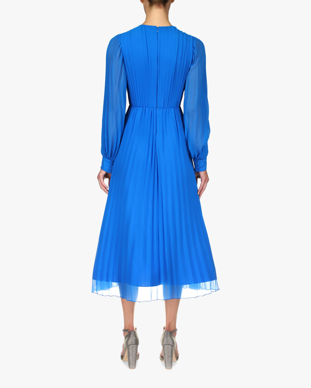 Badgley Mischka Pleated A-Line Dress 2