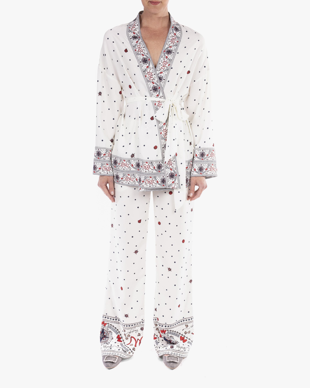 Badgley Mischka Kimono Wrap Jacket 0