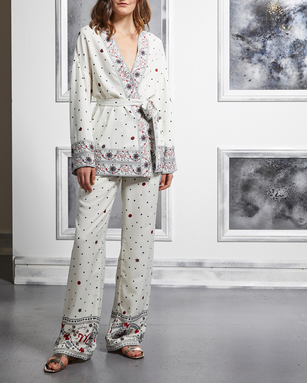 Badgley Mischka Kimono Wrap Jacket 2