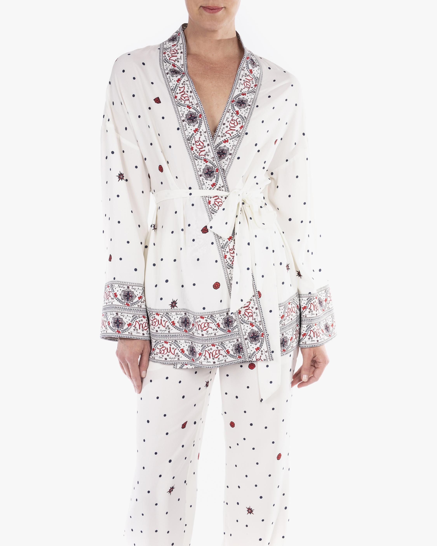 Badgley Mischka Kimono Wrap Jacket 4