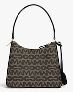 Mark Cross Murphy Zip Mini Hobo MC Jacquard & Leather Bag 2