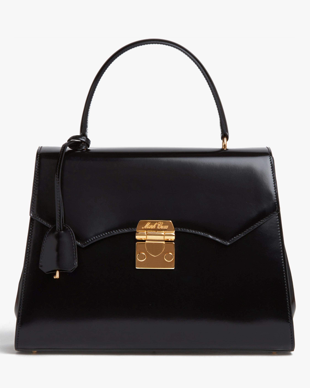 Mark Cross Madeline Lady Leather Top Handle Bag 1