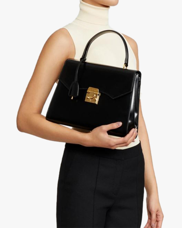 Mark Cross Madeline Lady Leather Top Handle Bag 2