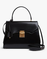 Mark Cross Madeline Lady Leather Top Handle Bag 4
