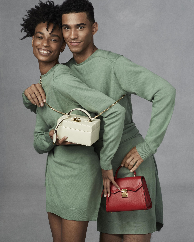 Mark Cross Madeline Mini Lady Leather Top Handle Bag 4