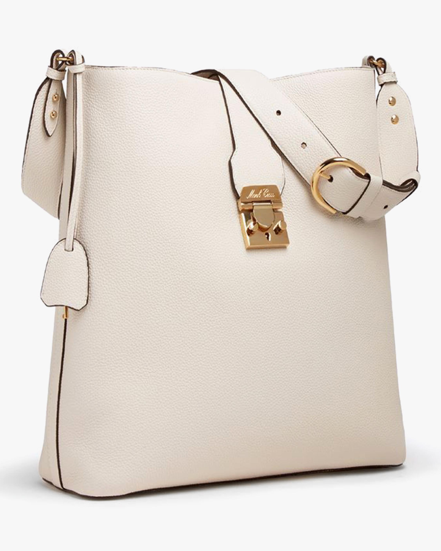 Mark Cross Murphy Hobo Leather Bucket Bag 1