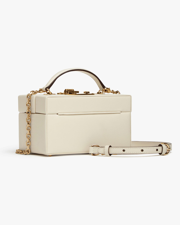 Mark Cross 1845 Leather Mini Trunk Bag 2