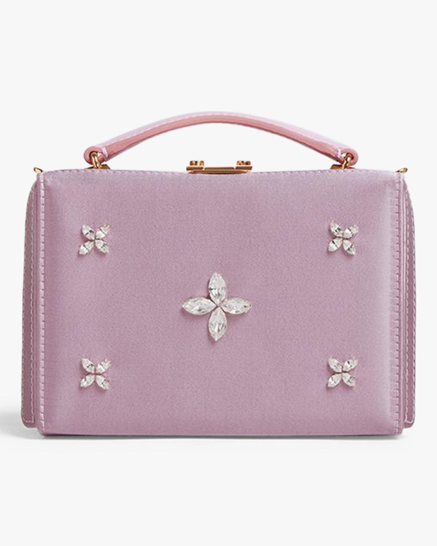 Mark Cross Grace Mini Satin Box Bag 1