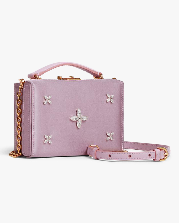 Mark Cross Grace Mini Satin Box Bag 2