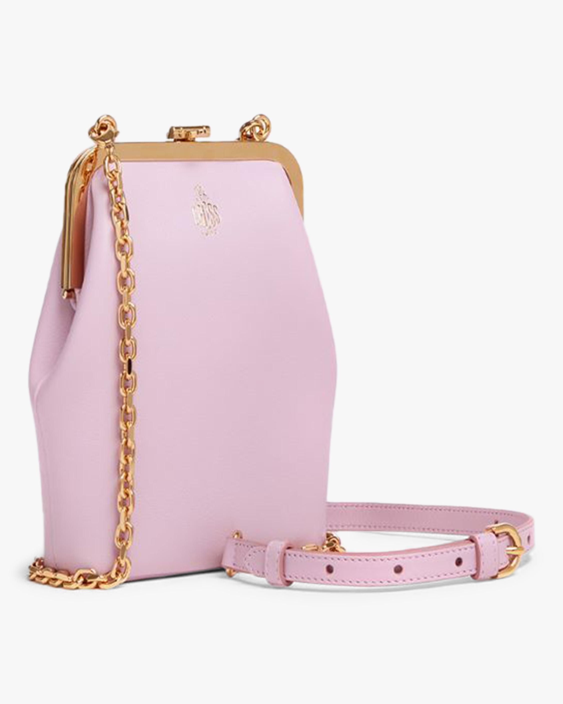 Mark Cross Susanna Crossbody Leather Frame Pouch Bag 2